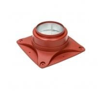 Основание вентилятора VILPE E120 S 250х250 мм красное