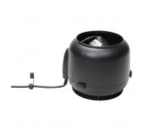 Вентилятор VILPE E120 S 125 мм черный