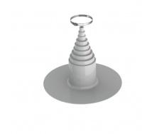 ПВХ-уплотнитель для кровель VILPE 12 мм светло-серый
