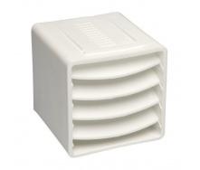 Вентиляционный куб VILPE 85х85х85 мм белый маляр