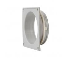 Фланець вентиляційної решітки VILPE 100 мм світло-сірий