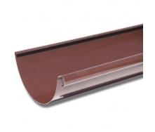Желоб Акведук Премиум 125 мм 4 м коричневый RAL 8017
