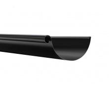 Желоб Акведук Премиум 125 мм 4 м черный RAL 9005