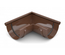 Угол внешний 90 градусов Bryza 100 коричневый