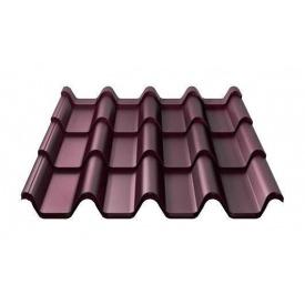 Металочерепиця Ruukki Armorium Pural Matt 0,5 мм червоне вино