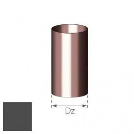 Труба Gamrat 110 мм 4 м графітова