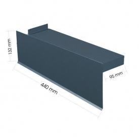 Торцевая планка Evertile Evertech G2 короткая правая/левая GT 369 мм