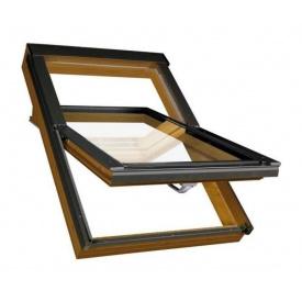 Мансардное окно FAKRO PTP-V/GO U3 вращательное влагостойкое 114x118 см