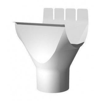 Водоприймач ринви Ruukki 90 мм білий