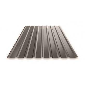 Профнастил Ruukki Т15 Pural Matt фасадний 13,5 мм темно-коричневий