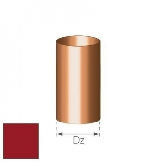 Труба Gamrat 90 мм 3 м вишневая