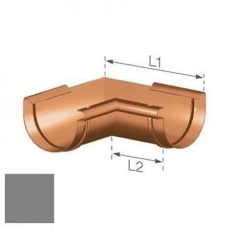 Внутренний угол Gamrat 125 мм серебряный