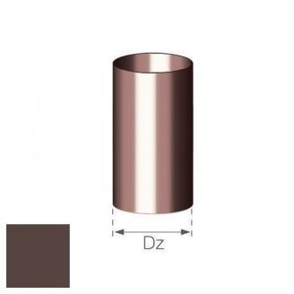 Труба Gamrat 90 мм 4 м коричневая