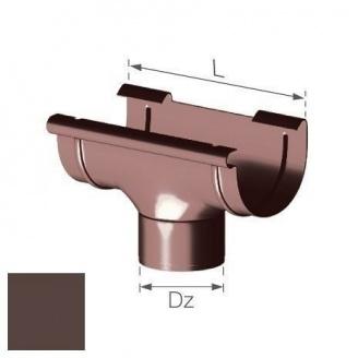 Сливная воронка Gamrat 150/110 мм коричневая