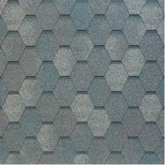 Битумно-полимерная черепица Tegola Nobil Tile Вест 1000х337 мм темно-серый