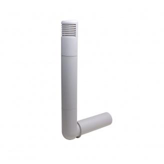 Цокольный дефлектор VILPE ROSS 125 мм светло-серый