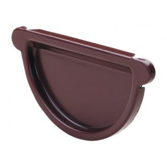 Заглушка желоба Прушиньски Niagara 110 мм коричневый
