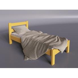 Дерев'яне ліжко Айріс-міні Sentenzo 900х1900 мм жовта