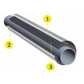Рулонная изоляция K-flex 16х1000-12 IN CLAD black/grey