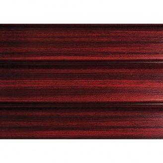 Софит ASKO без перфорации 3,5 м красное дерево тик