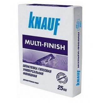 Гіпсова шпаклівка Knauf Multifinish 25 кг
