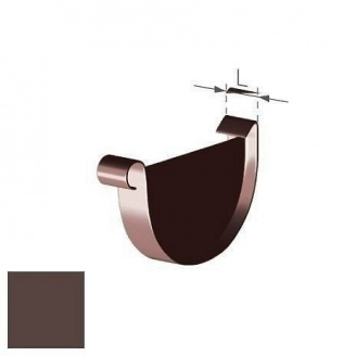 Заглушка універсальна Gamrat 125 мм коричнева