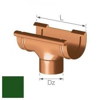 Зливна воронка Gamrat 125/90 мм зелена
