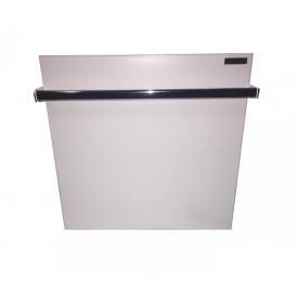 Керамический обогреватель с полотенцесушителем Кам-ин белый 475 Вт 600х600 мм