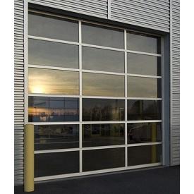 Окно в пол из теплого алюминия ALUMIL М11500 3000х2500 см