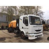 Аренда стационарного бетононасоса PUTZMEISTER 60-70 м3/ч 80-150 м