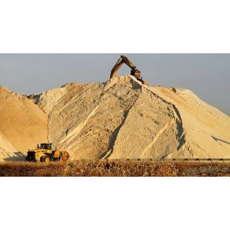 Песок строительный сеяный