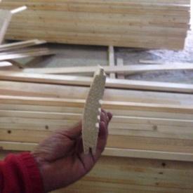 Блок-хаус сосновий 100х20 мм