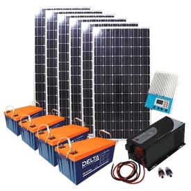 Автономная солнечная электростанция 3 кВт