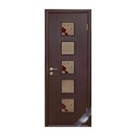 Двери межкомнатные Новый Стиль КВАДРА Р Фора №2 600х2000 мм венге