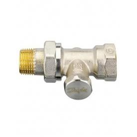 Прямий клапан Danfoss RLV-S-15 нікель зворотка 003L0124