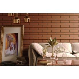 Плитка керамическая Golden Tile BrickStyle Baku Terracotta 250x60 мм