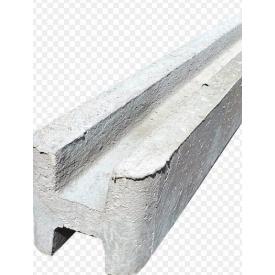 Столб опорный для забора Vivat Четверка 2,7 м серый