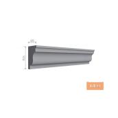 Карниз фасадний Тимис 2000x155x95 мм из армированого пенопласта арт 00189
