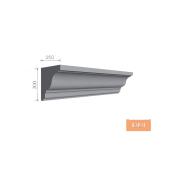 Карниз фасадний Тимис 2000x300x250 мм из армированого пенопласта арт 00191