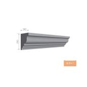 Карниз фасадний Тимис 2000x285x130 мм из армированого пенопласта арт 00193