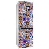 Наклейка на холодильник Uzuri Португальская плитка 600x2000 мм
