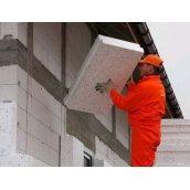Утеплення під ключ пінопластом 10 см фасад з силіконового короїда