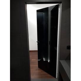 Скрытые двери комбинированные Зеркало-Окрашеные