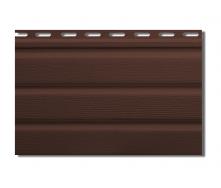 Софит Альта-Профиль без перфорации 3000х230 мм коричневый