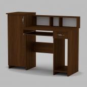 Комп'ютерний стіл Компанит Пі-Пі-2 1175х600х736 мм горіх