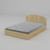 Ліжко Компанит 140 1444х750х2042 мм дуб сонома