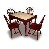 Обідній стіл ONDER MEBLI СТ 3045 махагон