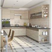 Кухня СОКМЕ Аліна 2,6 м без стільниці дуб сонома/мокка