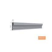 Карниз фасадный Тимис 2000x120x40 мм из армированного пенопласта арт 00277