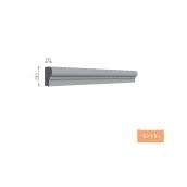 Цоколь элемент Тимис 80х65 мм из армированого пенопласта арт 00440